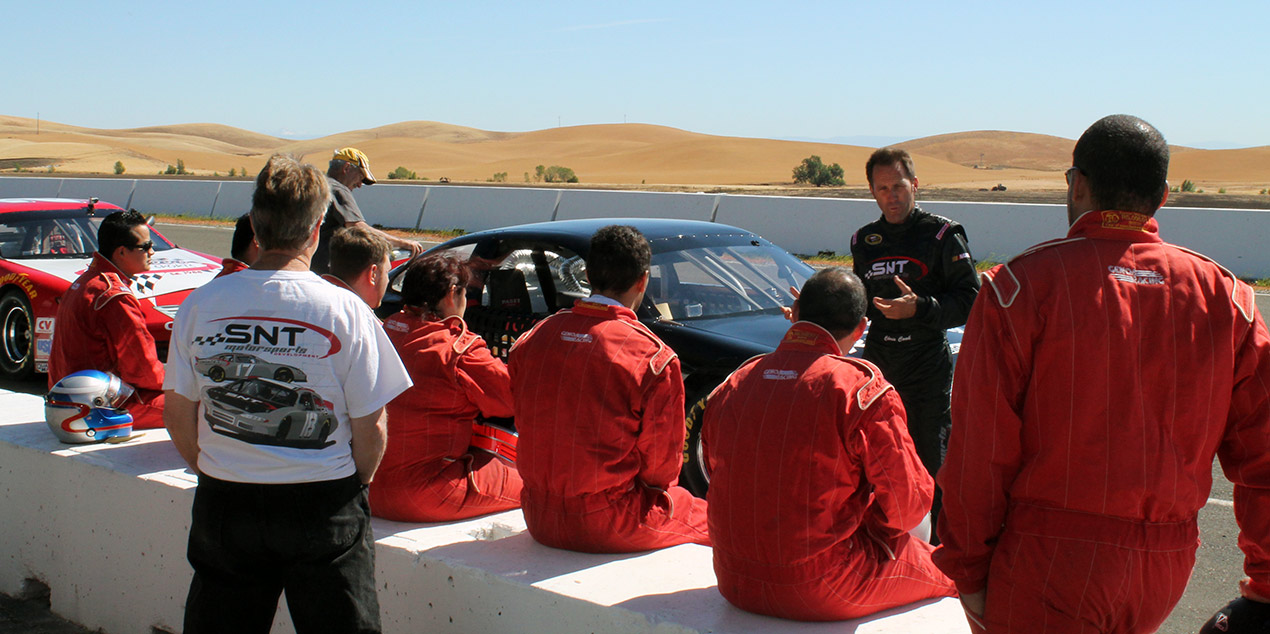 Chris Cook at Thunderhill